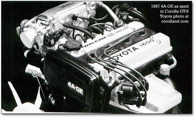 4A-GE toyota engines