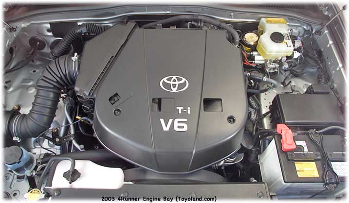 Toyota 4Runner V6 engine