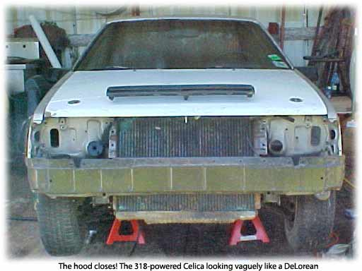 Chrysler 318 powered Toyota Celica cars
