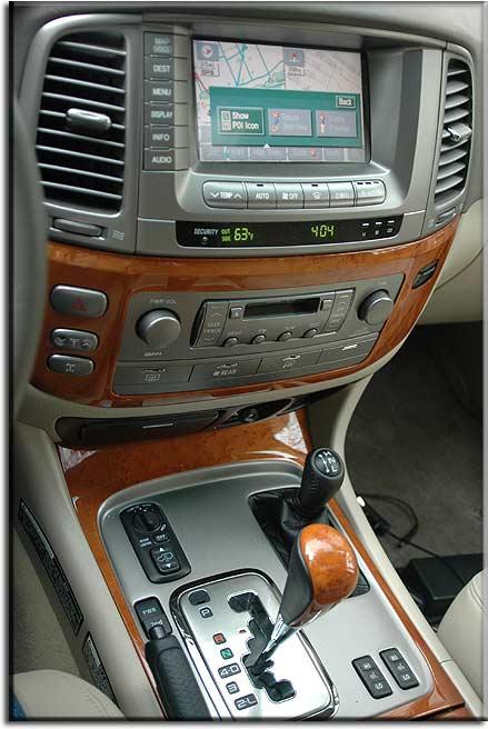 Lexus Lx470. lexus lx-470 navigation system