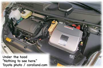 Hybrid Engine Gas And Electric Motor