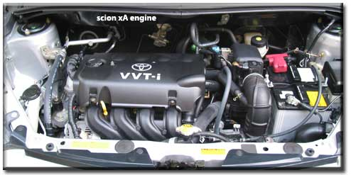 Scion engine The five-speed stickshift- the best way to order a Scion,