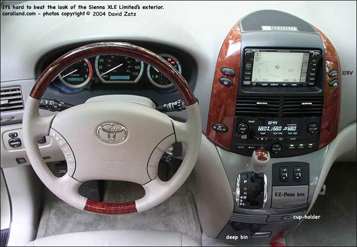 Toyota Sienna Minivan