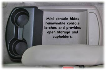 toyota minivan center console