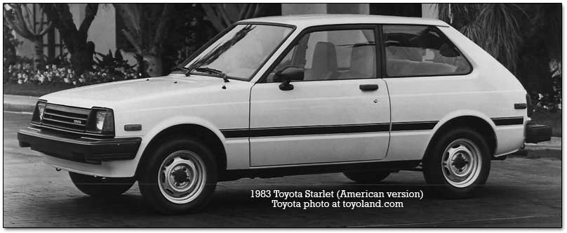 toyota starlet history and  rmation