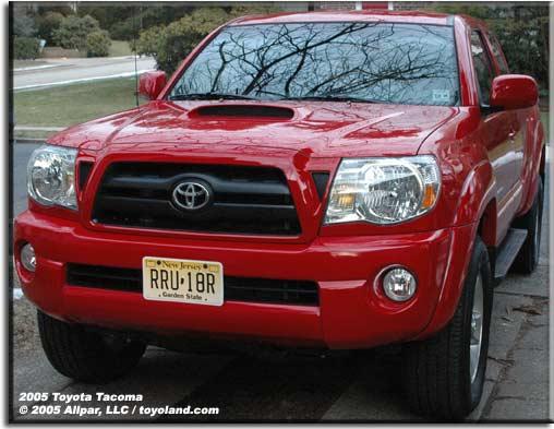Toyota Tacoma pickup truck - car reviews