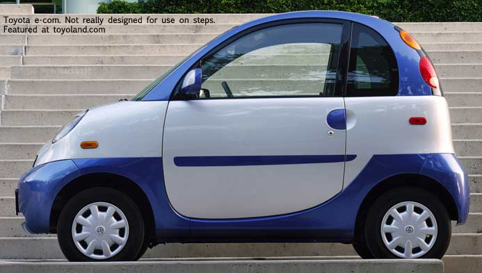 Toyota ecom electric car - 2001
