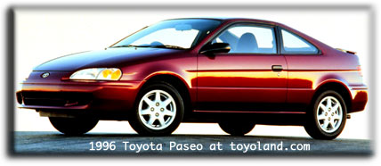 toyota paseo cars