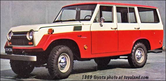 1969 toyota land cruisers