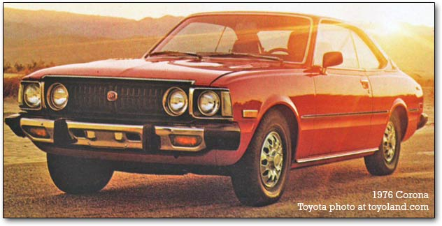 toyota corona the best car i ever had life and style the guardian. Black Bedroom Furniture Sets. Home Design Ideas