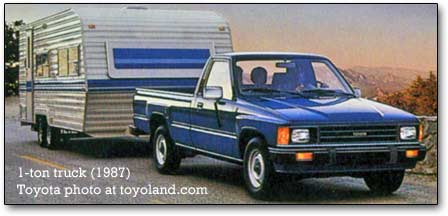 1993 toyota hilux towing capacity