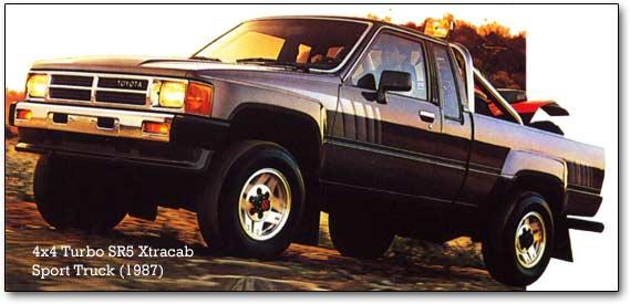 1987 Toyota 4x4 Truck