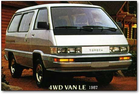 1987 Toyota Van