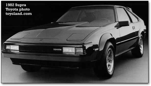 1982 Toyota Supra The ...