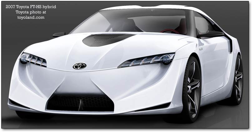 Toyota Prius Concept. FT-HS hybrid concept car