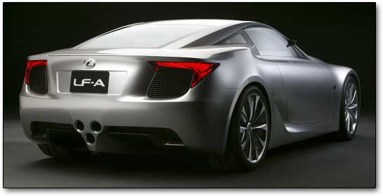 rear - lexus concepts