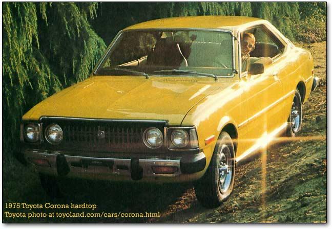 Toyota Corona cars