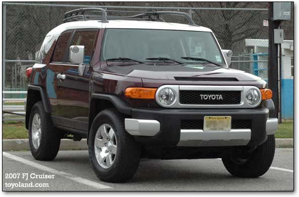 2007 Toyota Fj Cruiser Suv Car Reviews