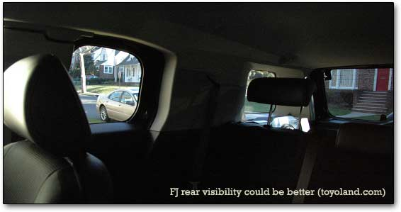rear visibility