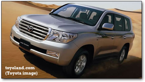 toyota land cruiser - 2009