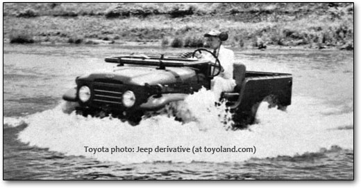 toyota Jeep imitation