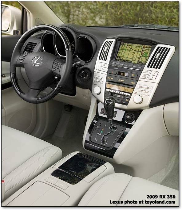 Lexus 2005 Rx330: Console Differences? Which Is Which?