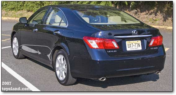 Lexus ES350 history and description