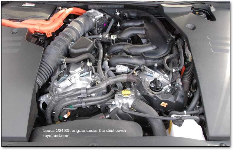 Lexus Hybrid Electric Engine