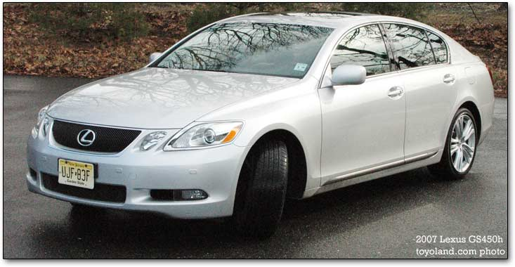 Lexus GS450h car review The Lexus GS450h is essentially the GS430 with its