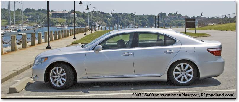 Lexus Newport Beach >> Lexus LS400, LS430, and LS460: history and description