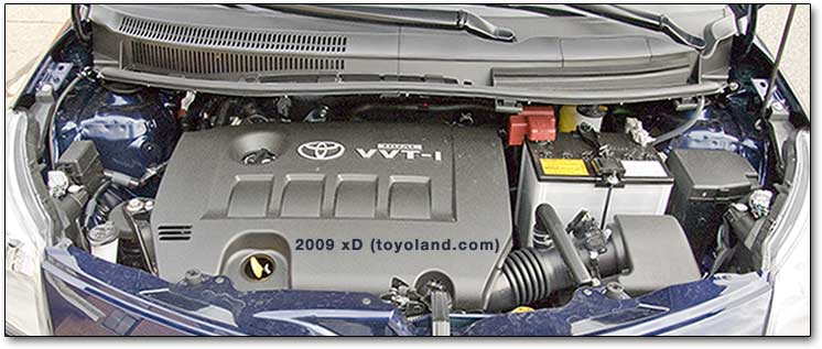 scion xD engine