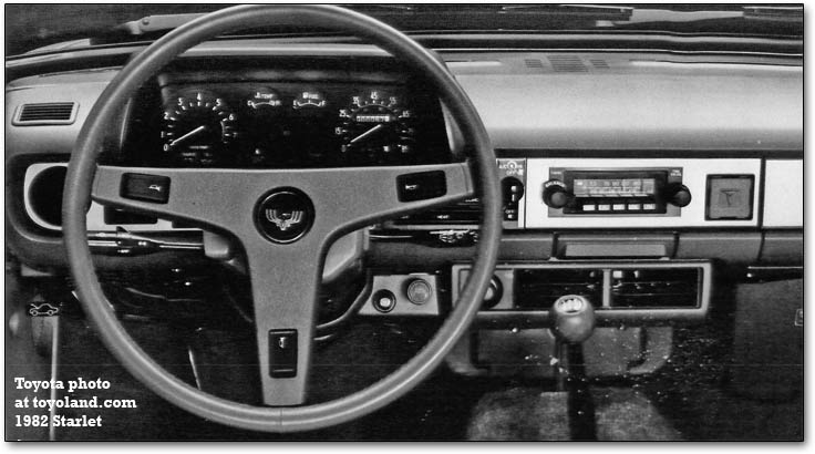 starlet dashboard