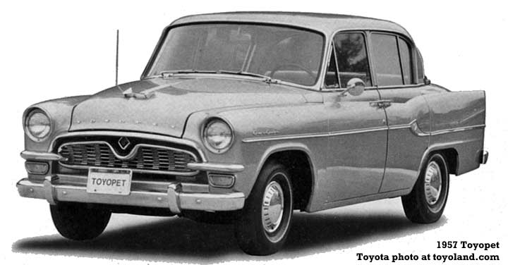 Toyota - history of the car company