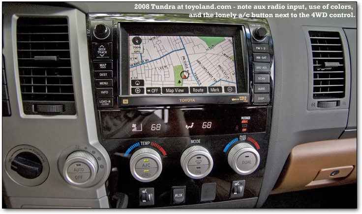 Just Replaced Oem '10 Radio With '12 Navigation Unit Tundratalk Rhtundratalk: 2007 Toyota Tundra Radio Upgrade At Elf-jo.com
