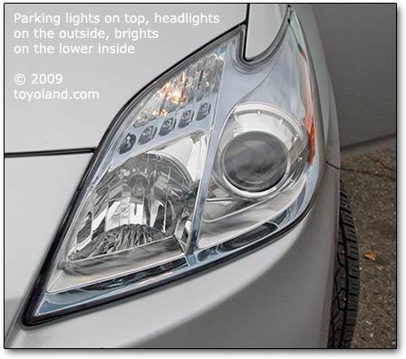 Electric Symbol Prius Headlights