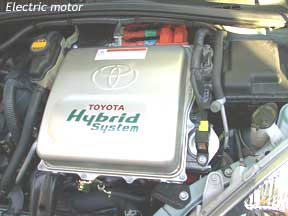 Electric motor from the toyota prius